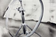 eBay a prokrastinace - akryl na plátně, 40 x 40 cm