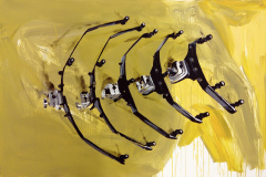 eBay a prokrastinace - akryl na plátně, 100 x 140 cm