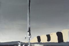 eBay a prokrastinace - akryl na plátně, 40 x 80 cm