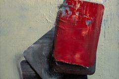 Karty - olej na plátně 40 x 30 cm, 2020