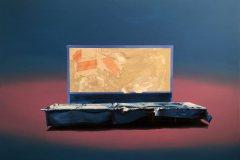 Řez - olej na plátně 140 x 200 cm, 2018