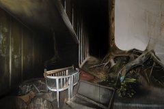 Noční vidění - olej na plátně 200 x 340 cm, 2021
