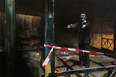 Long Distance - olej na plátně 100 x 140 cm, 2020