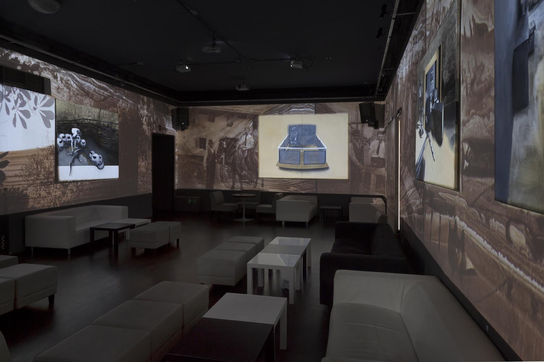 videoinstalace NoD, foto: Pavla Ortová
