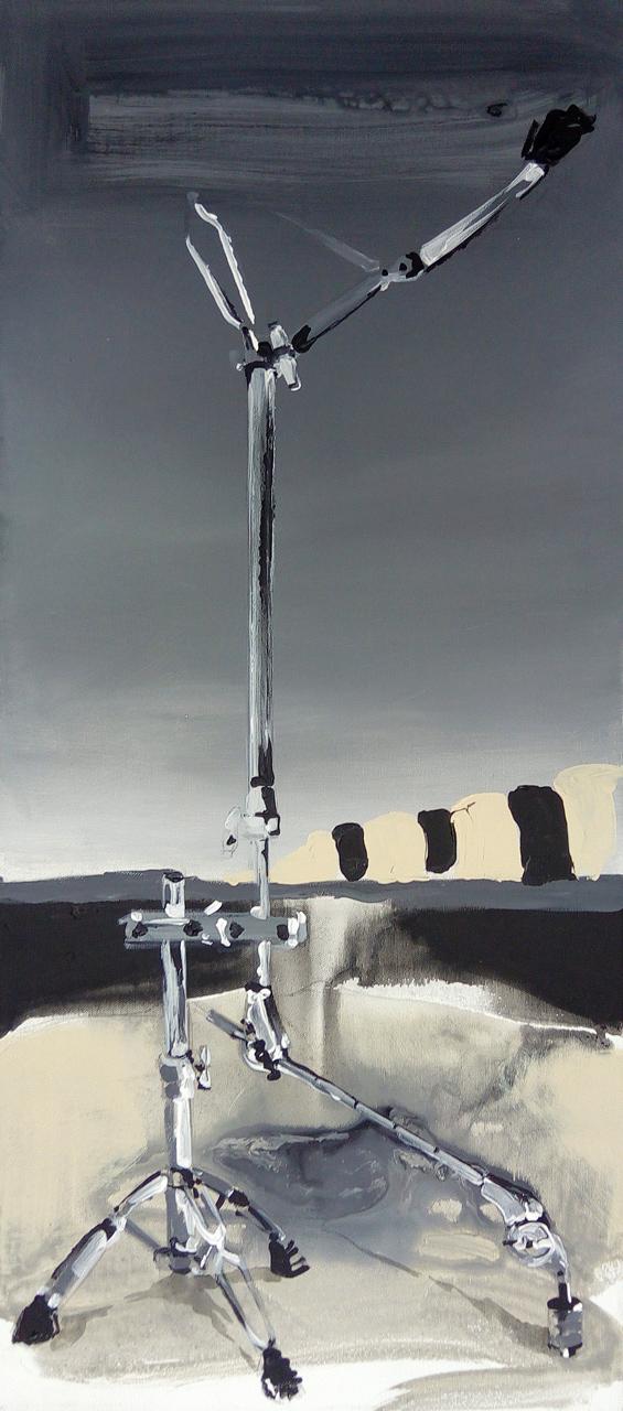 bez názvu - akryl na plátně, 40 x 90 cm, 2018