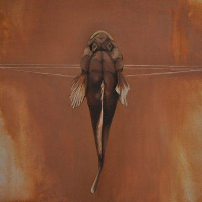 bez názvu, olej na plátně, 100 x 70 cm, 2011, soukromá sbírka