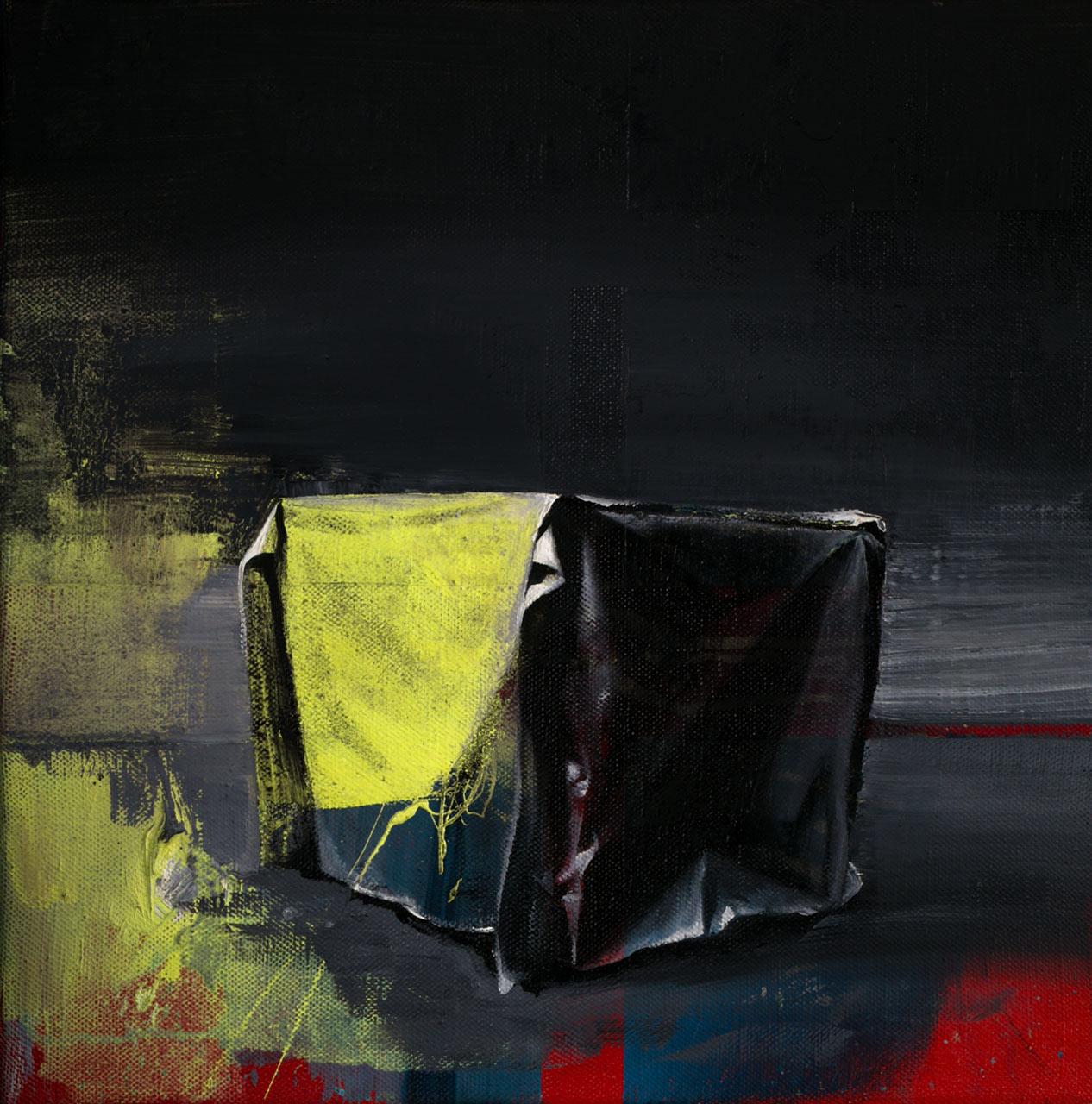 Kouzelná skříňka - olej na plátně 40 x 40 cm, 2019
